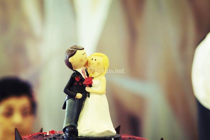 Los muñecos de la tarta