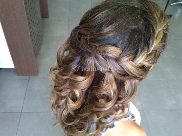 Peinado natural