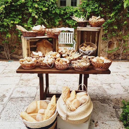 Puesto de pan