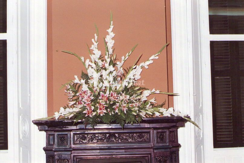 Centros florales para eventos
