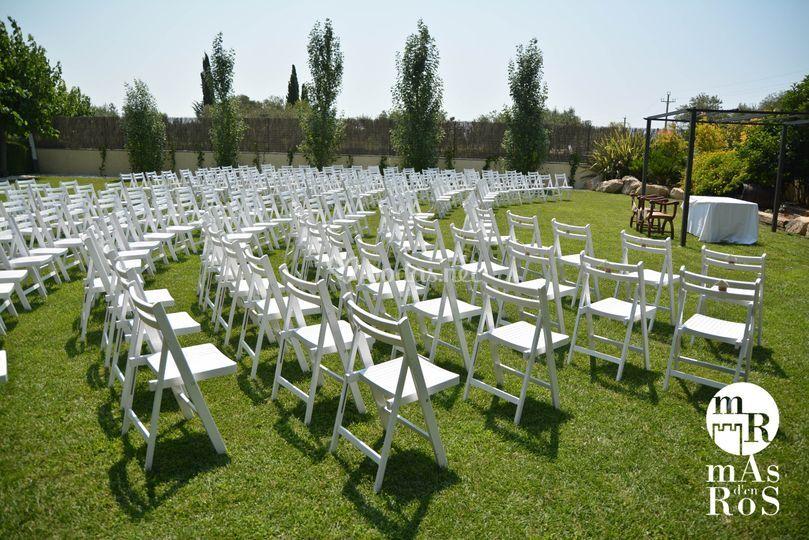 Montaje para ceremonia civil