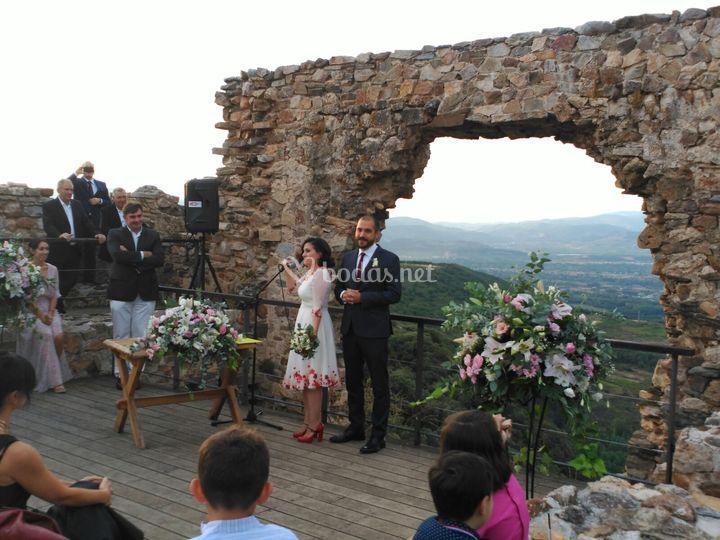 Ceremonia en Cornatel
