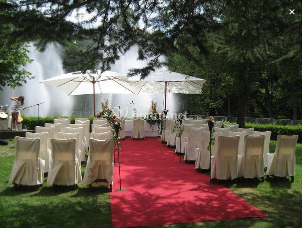Boda al aire libre de la pardina fotos - Decoracion para bodas al aire libre ...