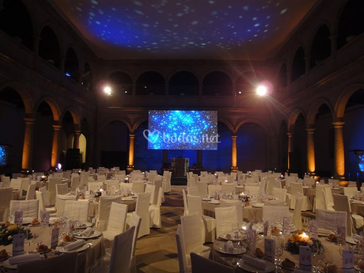 Evento en Patio de Cristal