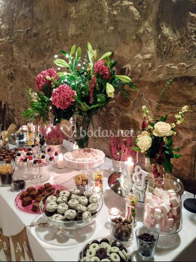 Candy bar en la Bodega