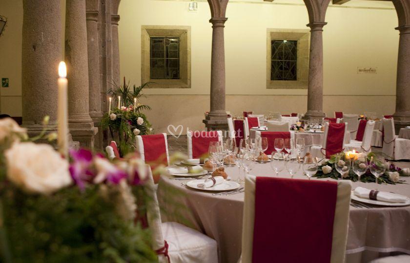 Banquete en Patio Cristal