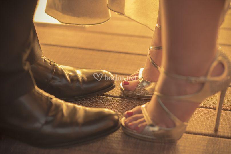 Zapatos boda Laura Gallardo