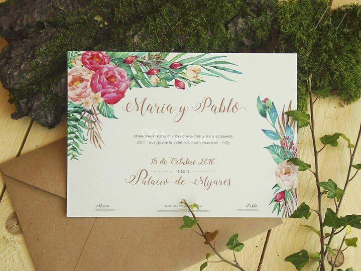 Invitación naturaleza