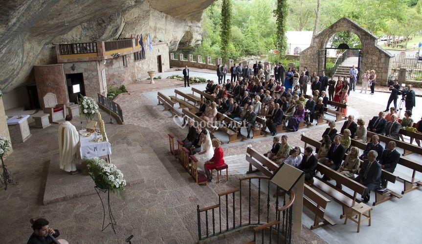 Ceremonia con música clásica