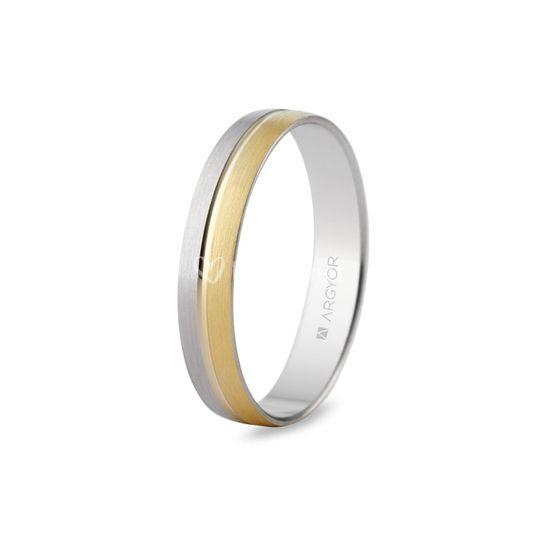 Alianza de oro de 18K 5240480