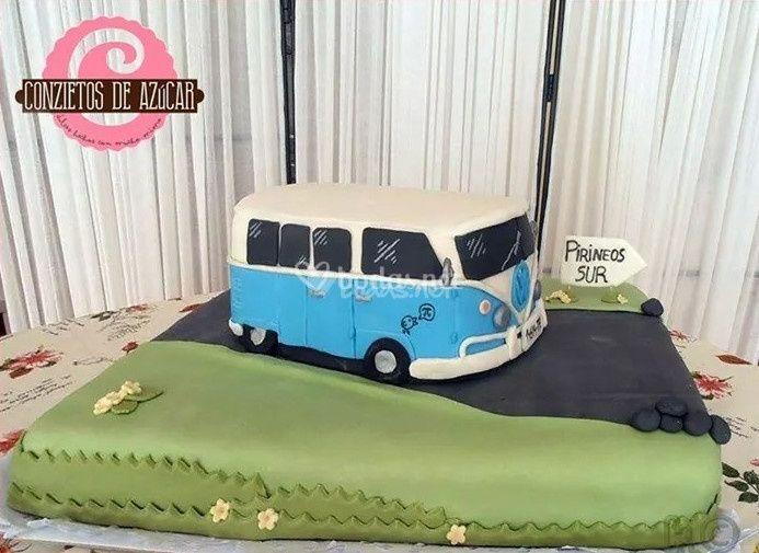 Tarta de caravana