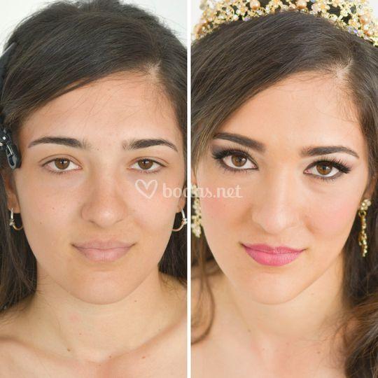 Maquilladora novia ciudad real