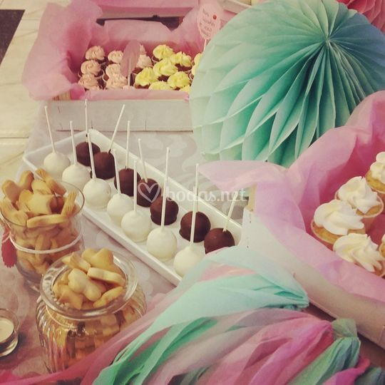 Detalle mesa dulce