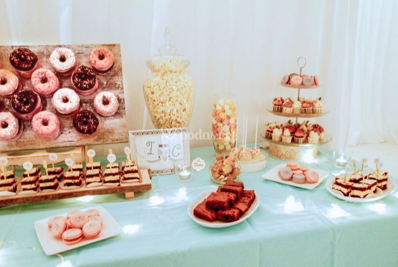 Mesa dulce blanca