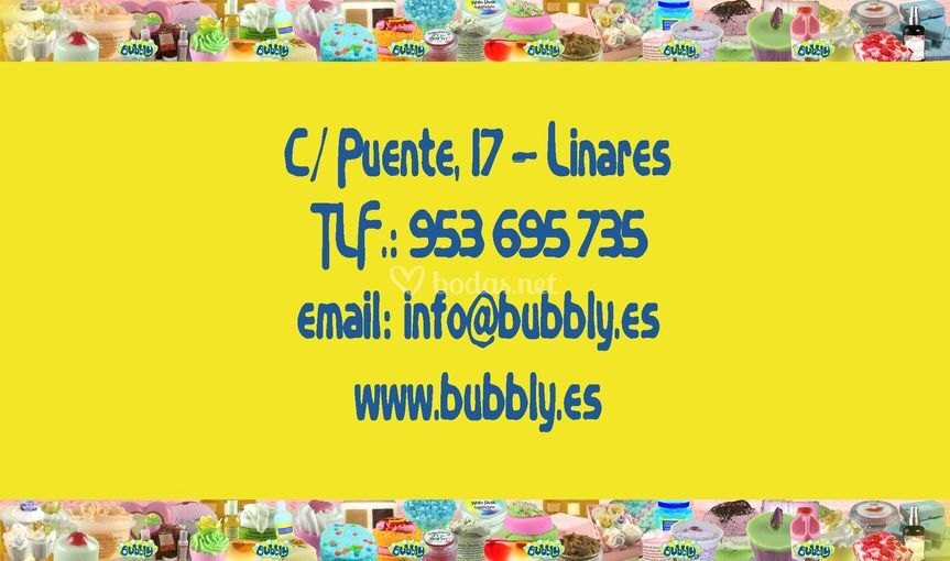 Info tienda Bubbly