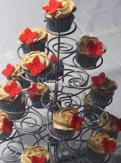 Arbol de Mini  Cupackes