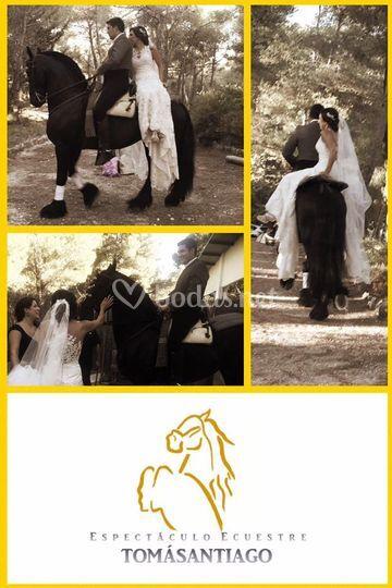 Llegada de la novia al altar