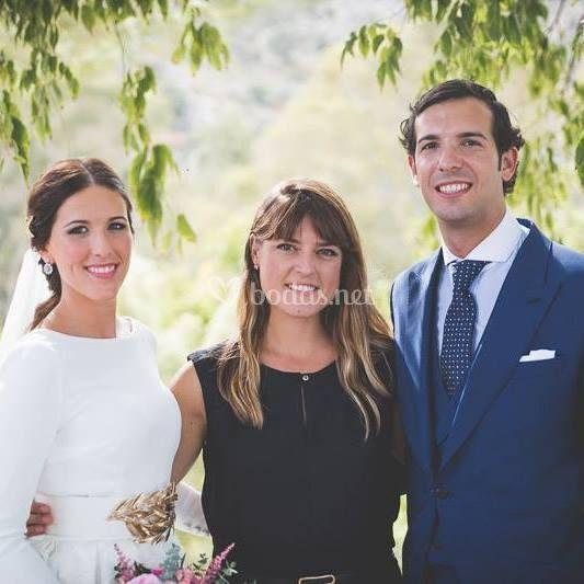 Elia con Paula & Victor