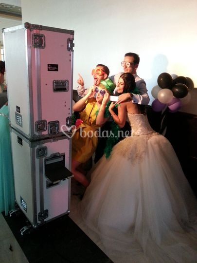 Fotomatón boda