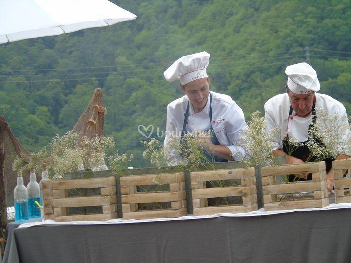 Cocina de lujo