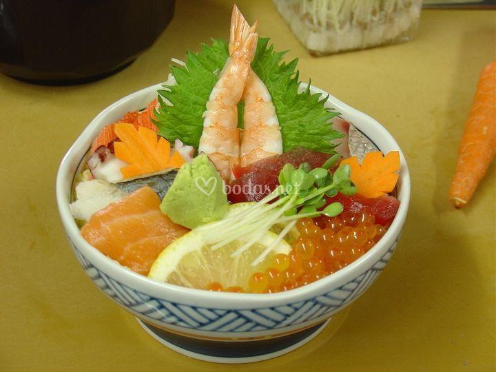 Cuenco sashimi