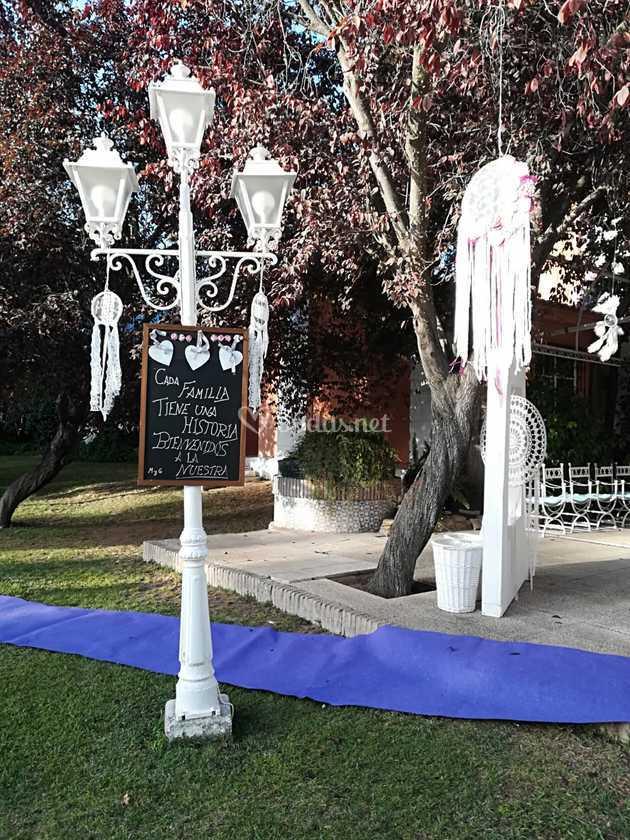 Bienvenidos a mi boda