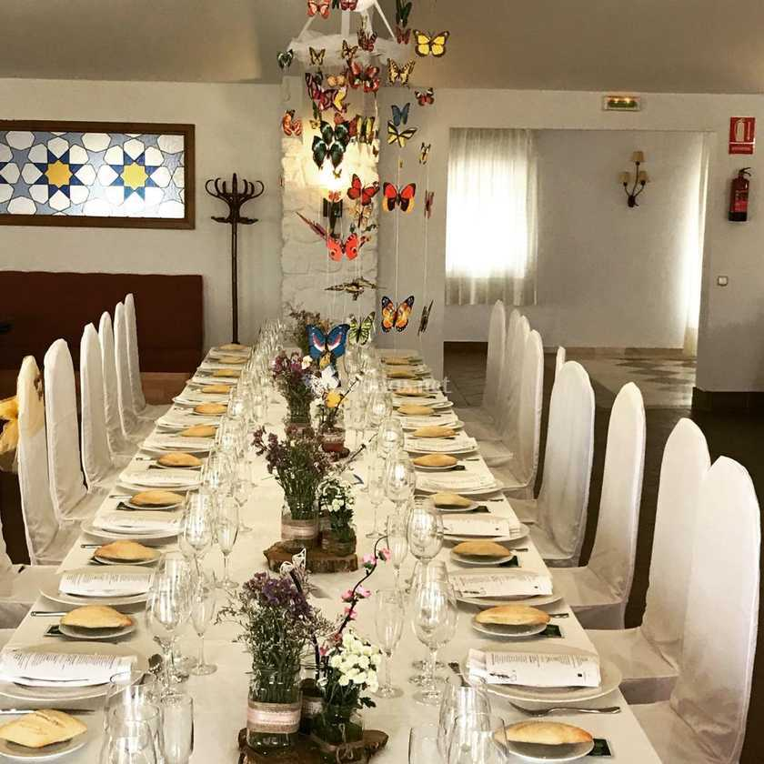 Celebración salon interior