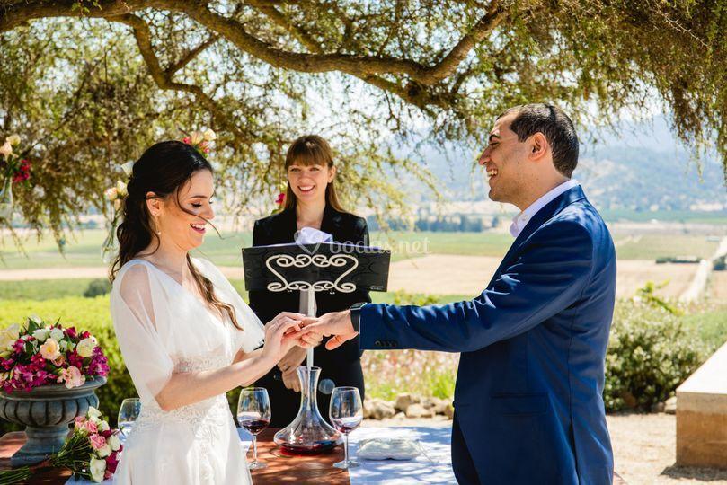 Pinceladas de bodas - Maestro de ceremonias