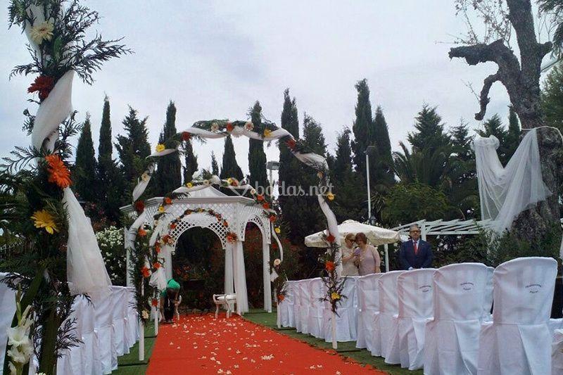 Decroación ceremonia