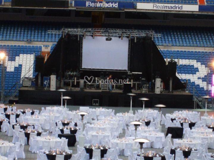 Escenarios para bodas