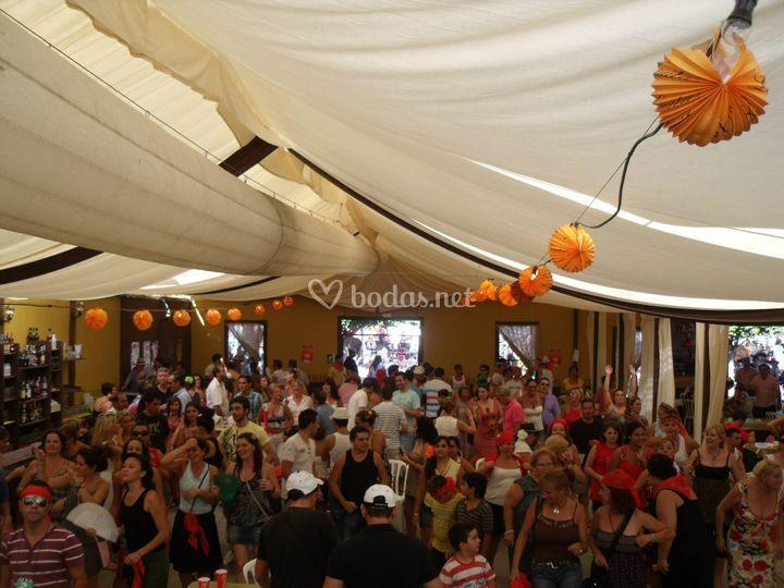 Feria de málaga 2010
