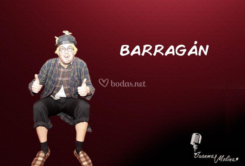Personaje Barragán
