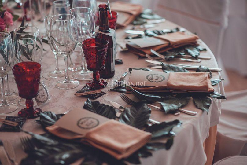 Tu mesa personalizada