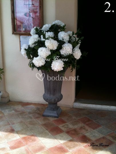 Flores para ceremonia