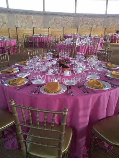 Banquete en la plaza