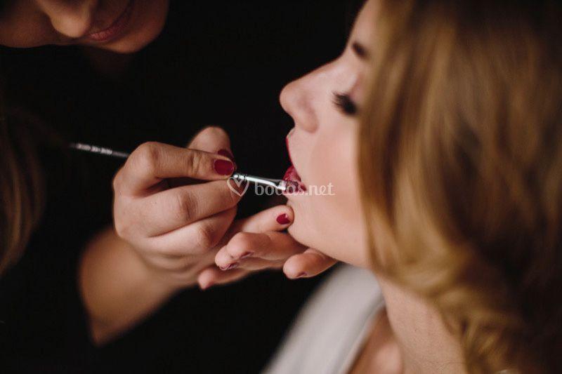 Repasando labios
