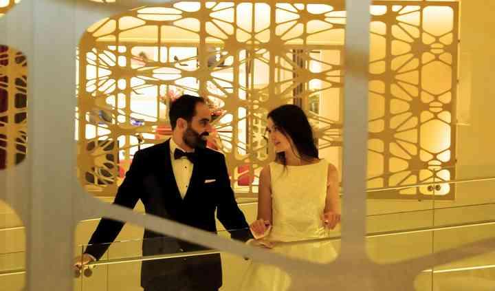 Una boda muy urbana