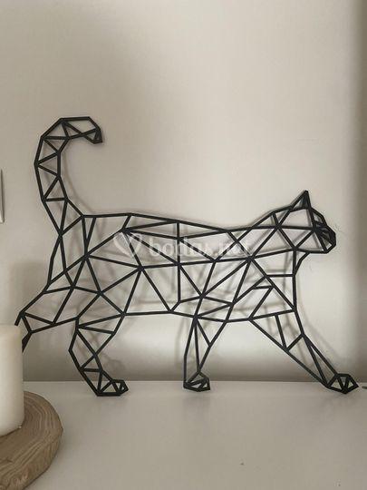 Animales poligonales 40x30