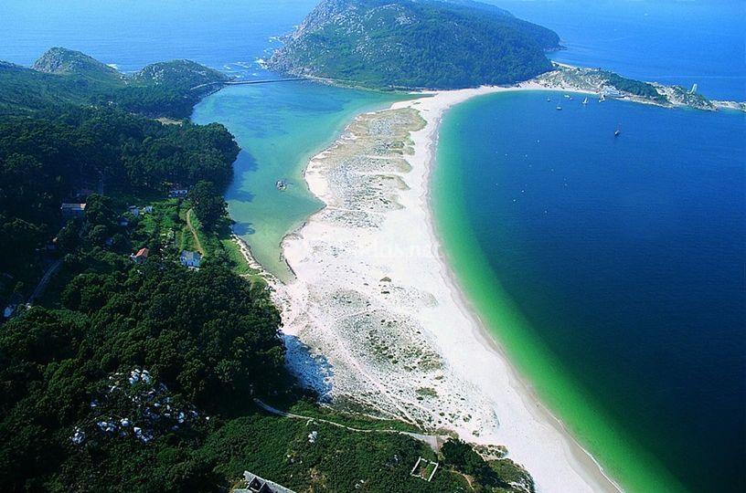 Islas Cíes. Galicia