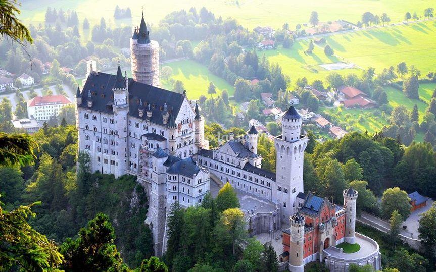 Castillo de Neuschwanstein en