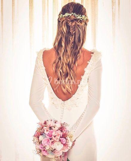Semirecogido de novia