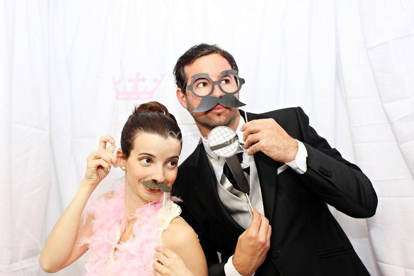 Alquiler fotomaton para bodas