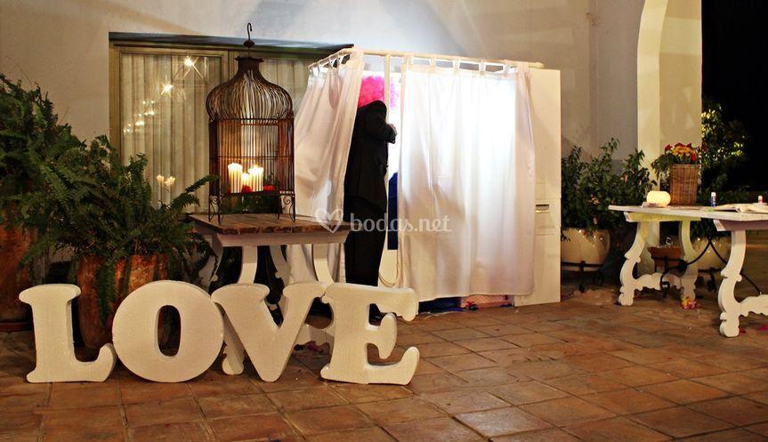 Fotomatón bodas