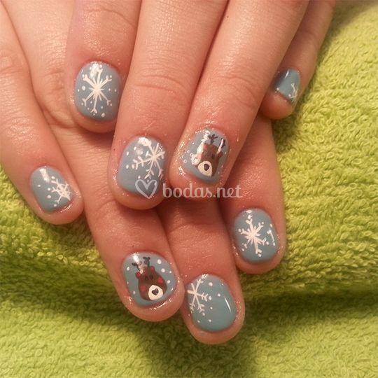 Uñas de gel y manicuras