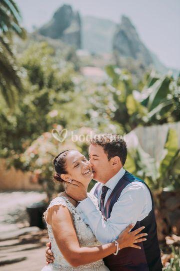 Besos en La Gomera