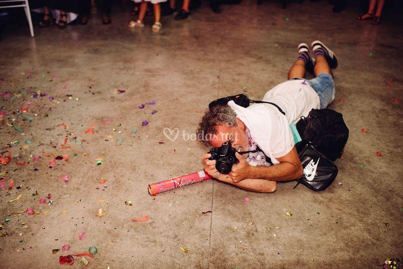 Fotógrafo infiltrado