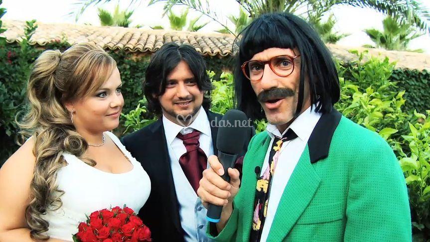 Reportero de boda
