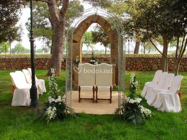 Diseña tu escenario de Floristería Mimosa Garden Center