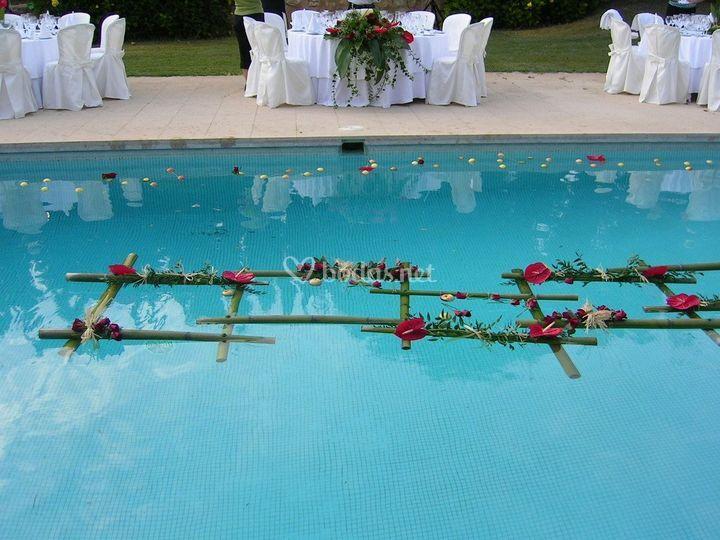 De piscina a súper jarrón
