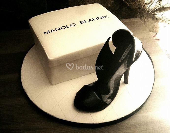 Pastel zapato